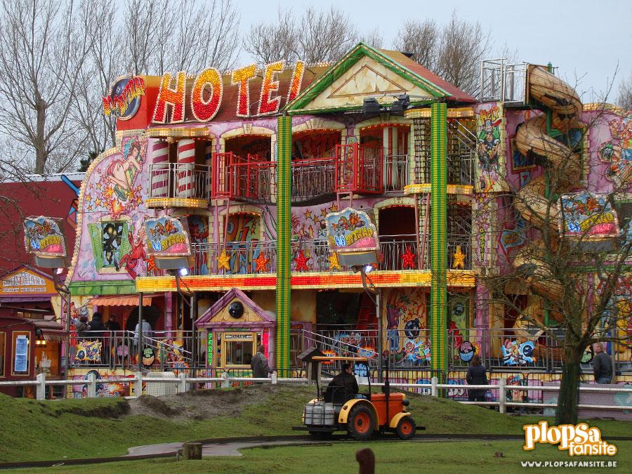 Populaire Boobytrap Hotel / Attracties / Plopsaland De Panne / PlopsaFansite OD68
