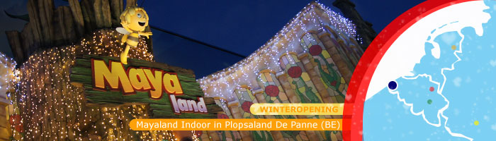 Mayaland in Plopsaland De Panne (winter)